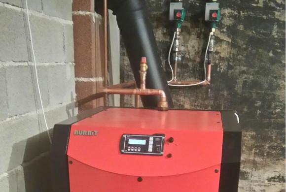 Peć na drva sa ventilatorom